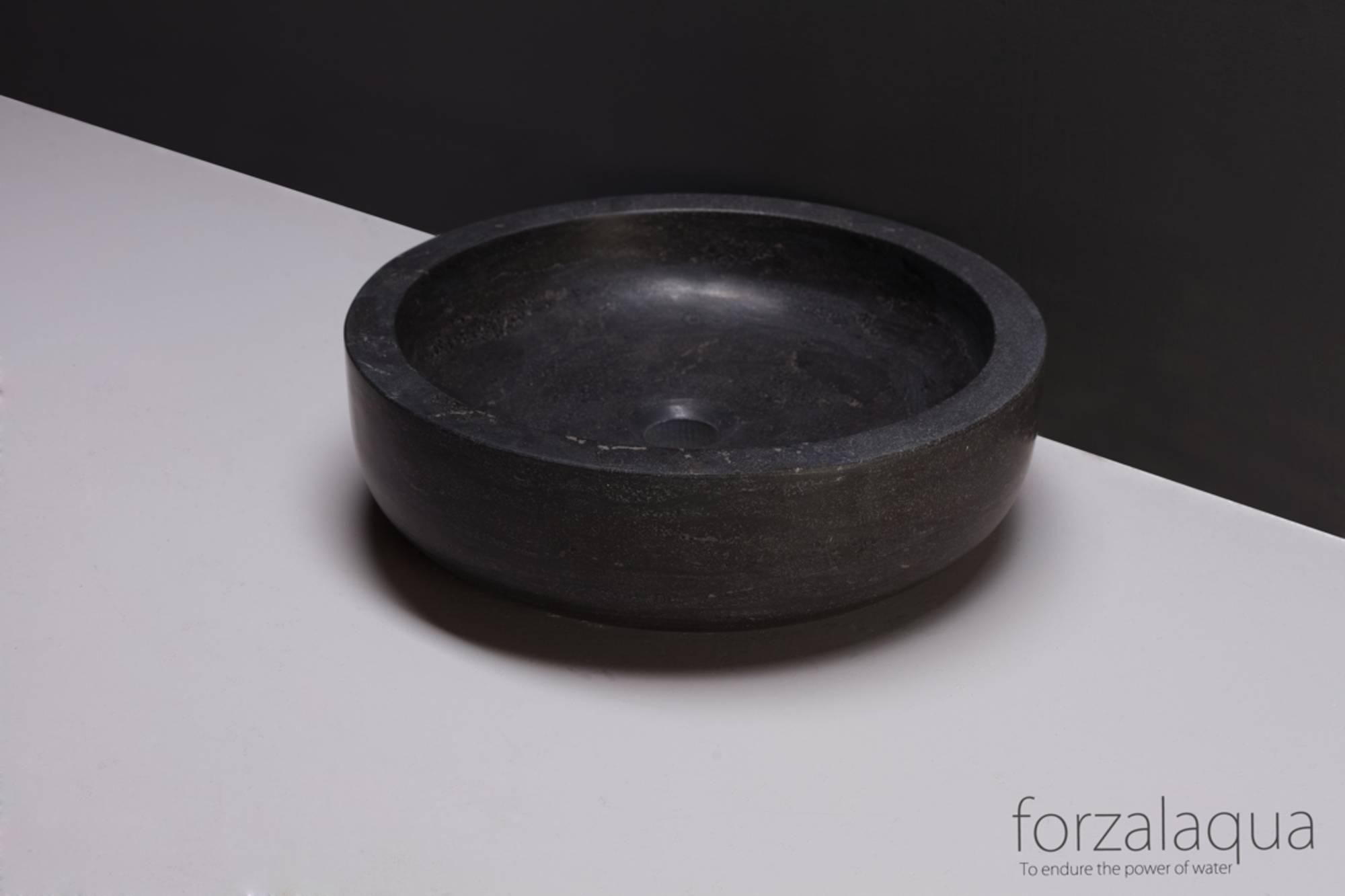 Forzalaqua Verona opzetkom 40x12cm hardsteen gezoet