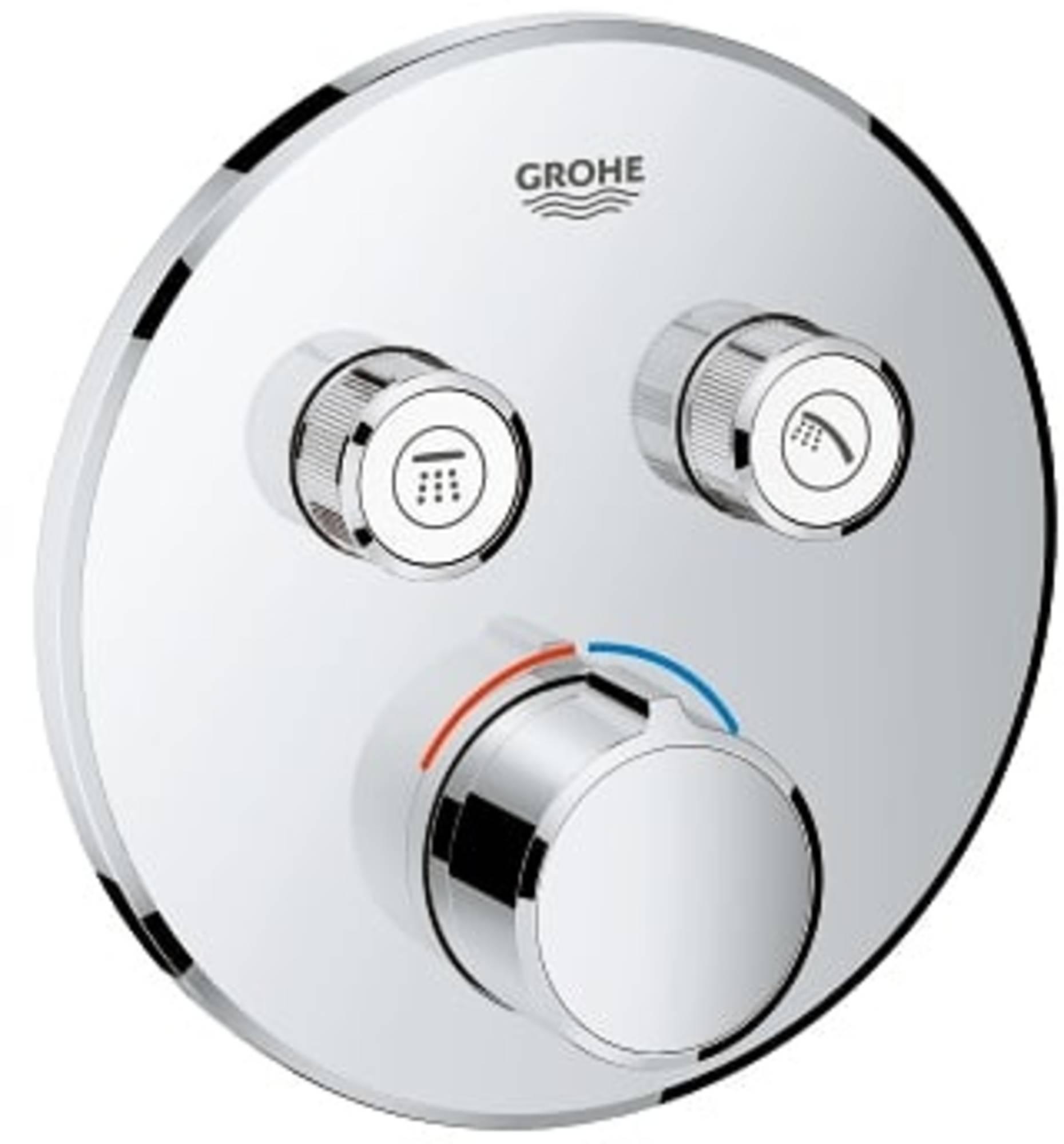 Grohe Smartcontrol Afdekset voor Douchekraan met omstel rond Chroom