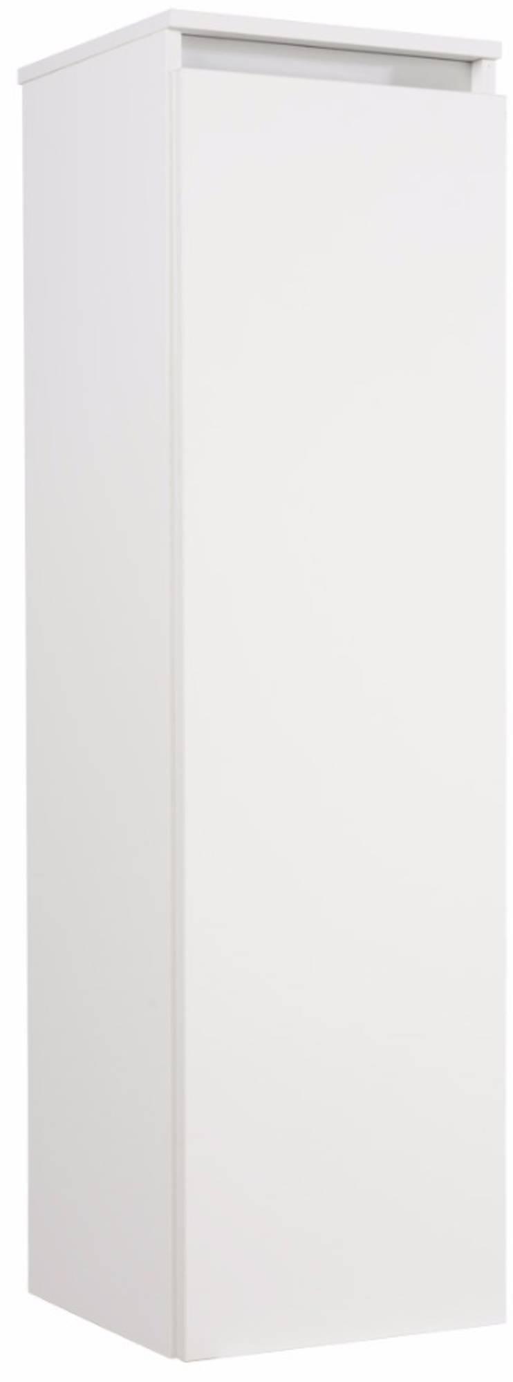 Saniselect Guarda Halfhoge Kast Rechts 35x34x120 cm Wit