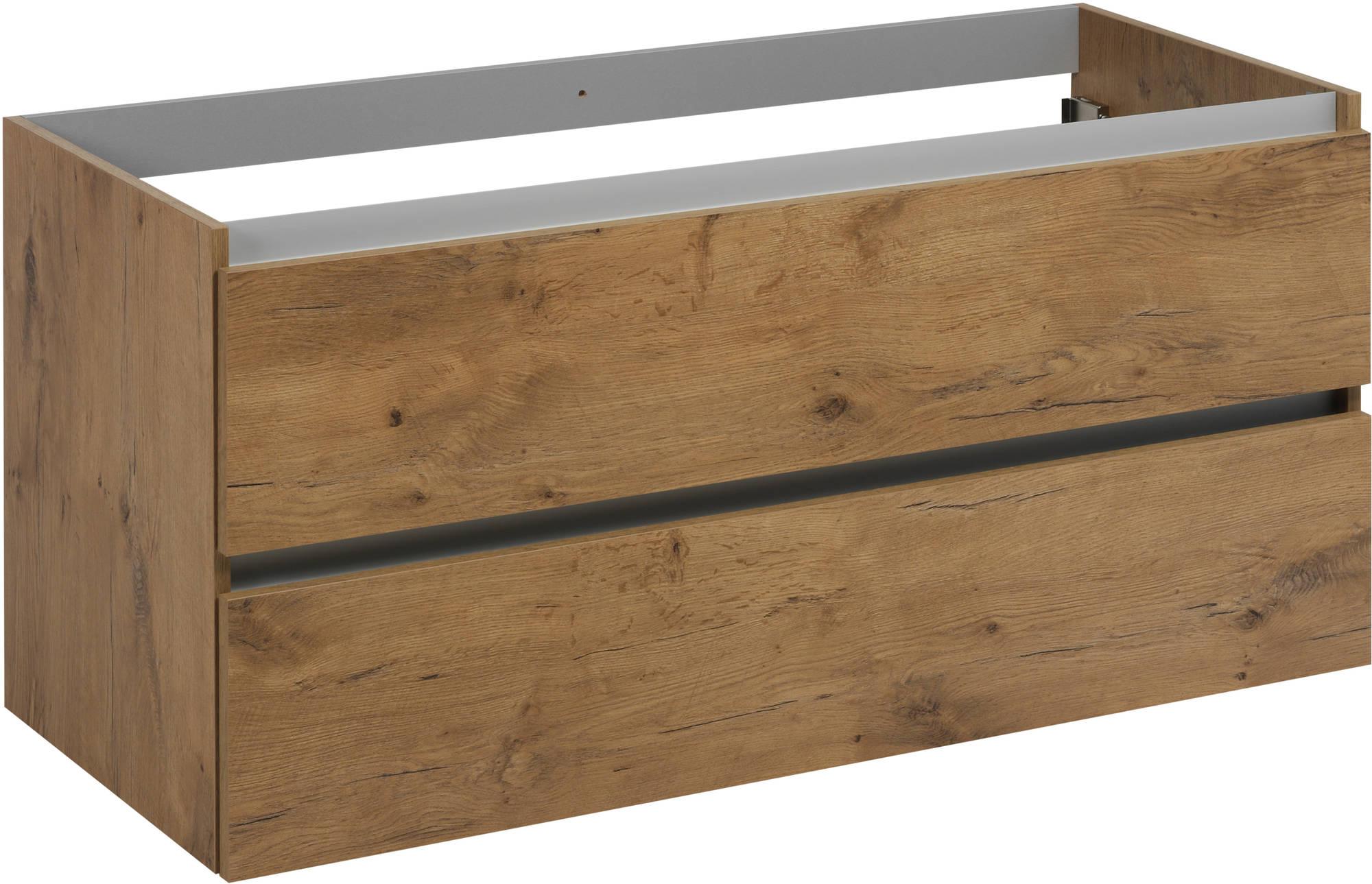 Saniselect Guarda Onderkast 120x50,5x60 cm Wild Eiken
