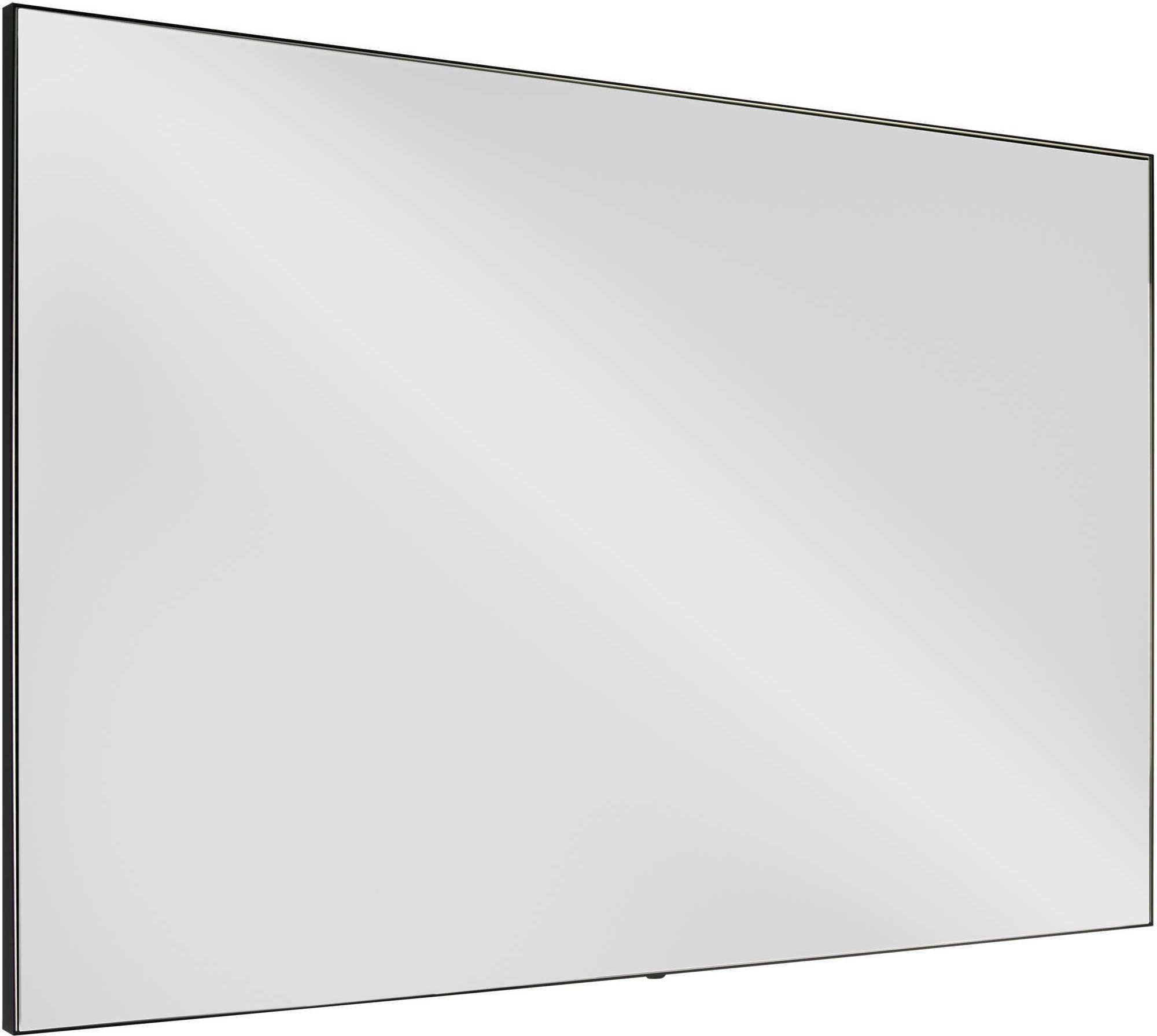 Ben Gravite spiegel 80x70cm mat zwart