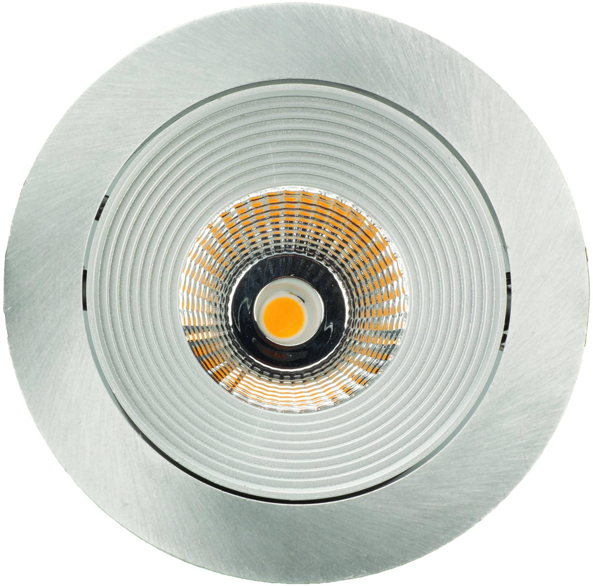 Ben Luxalon plafond spot LED Aluminium mat