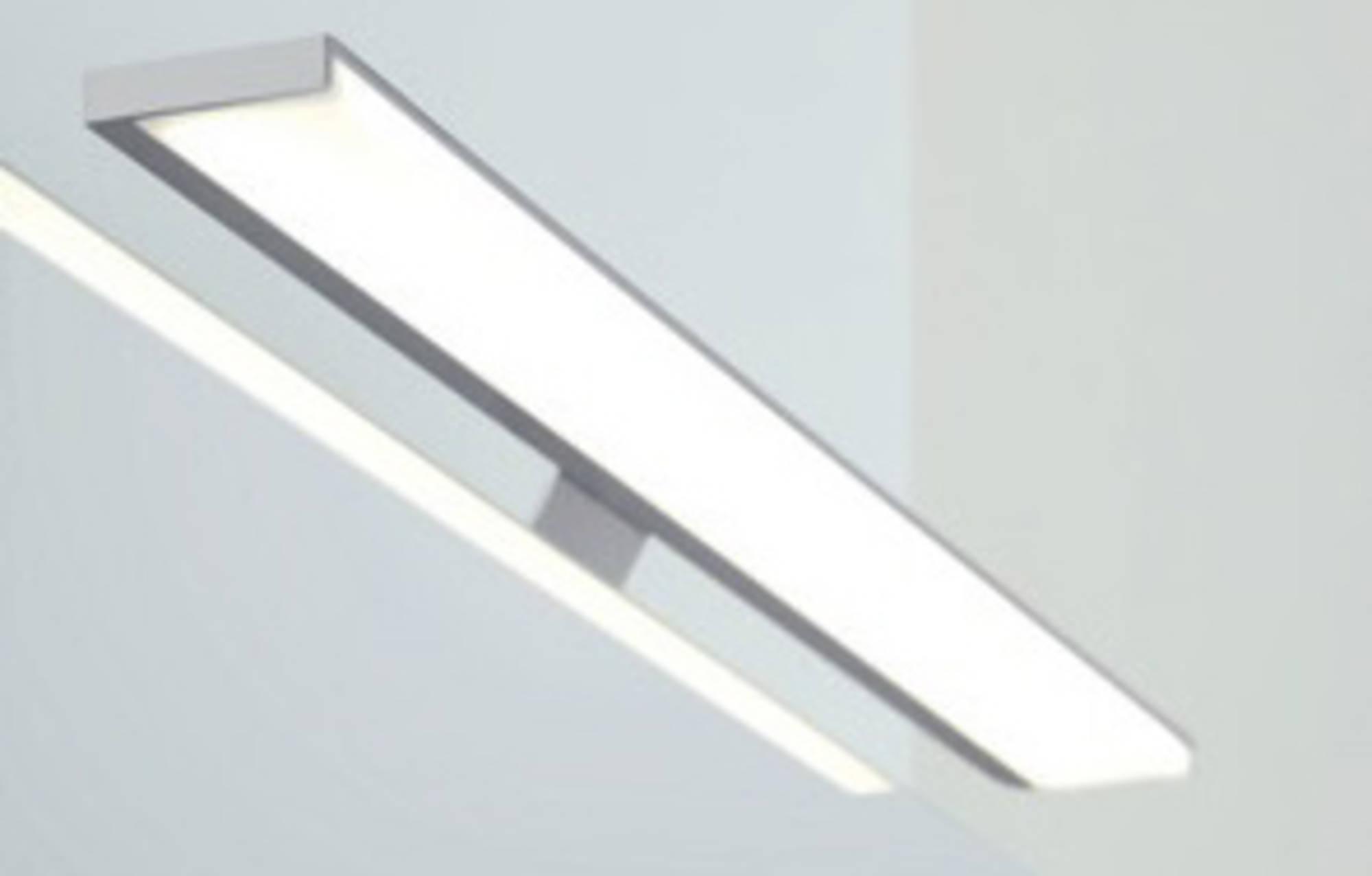 Line 45 Opbouwlamp Rechthoekig 50 cm Aluminium tbv. Spiegelkast