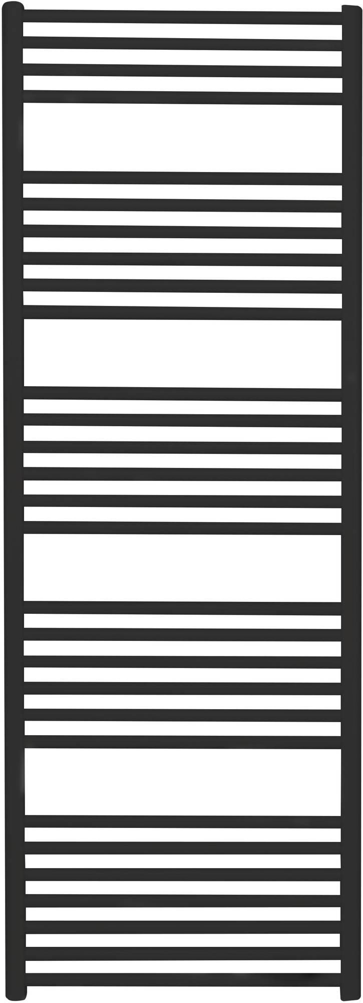 Saniselect Moulin Designradiatoren Recht 60x167,2 cm Zwart
