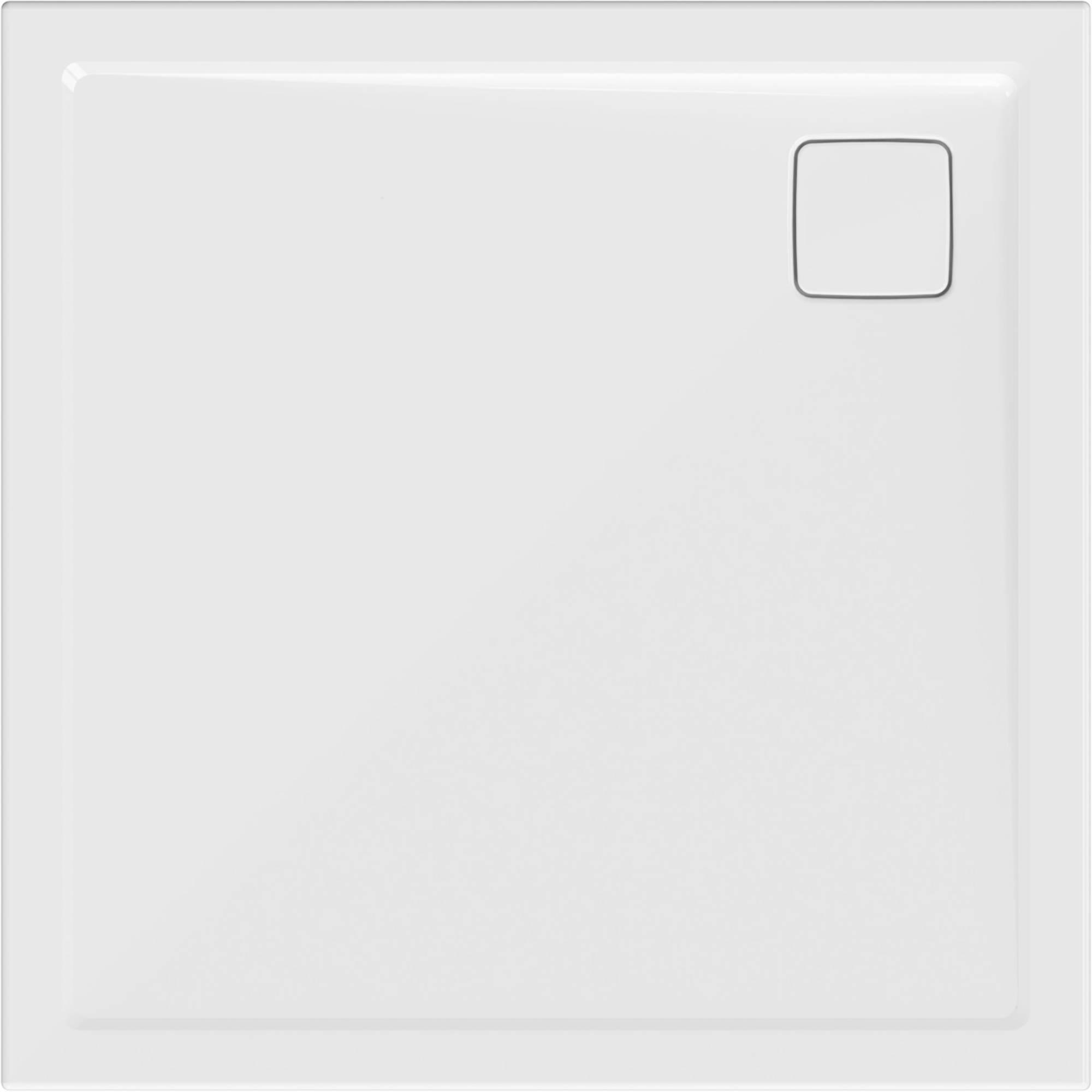 Ben Metric Design Douchebak 90x90 cm Mat Wit