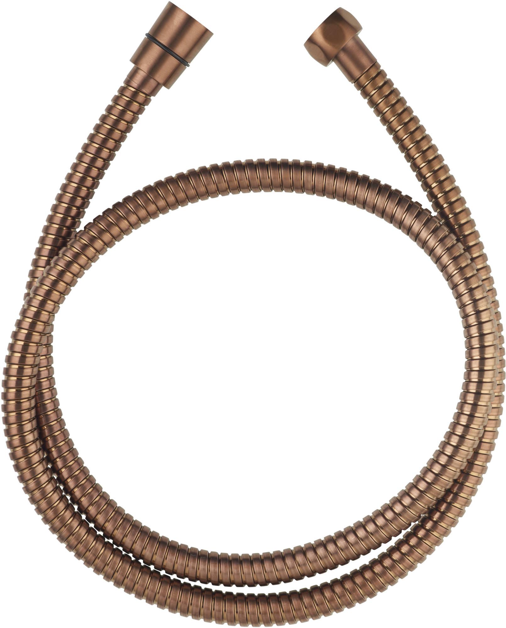 Ben Doucheslang metaal 125cm Geborsteld Koper