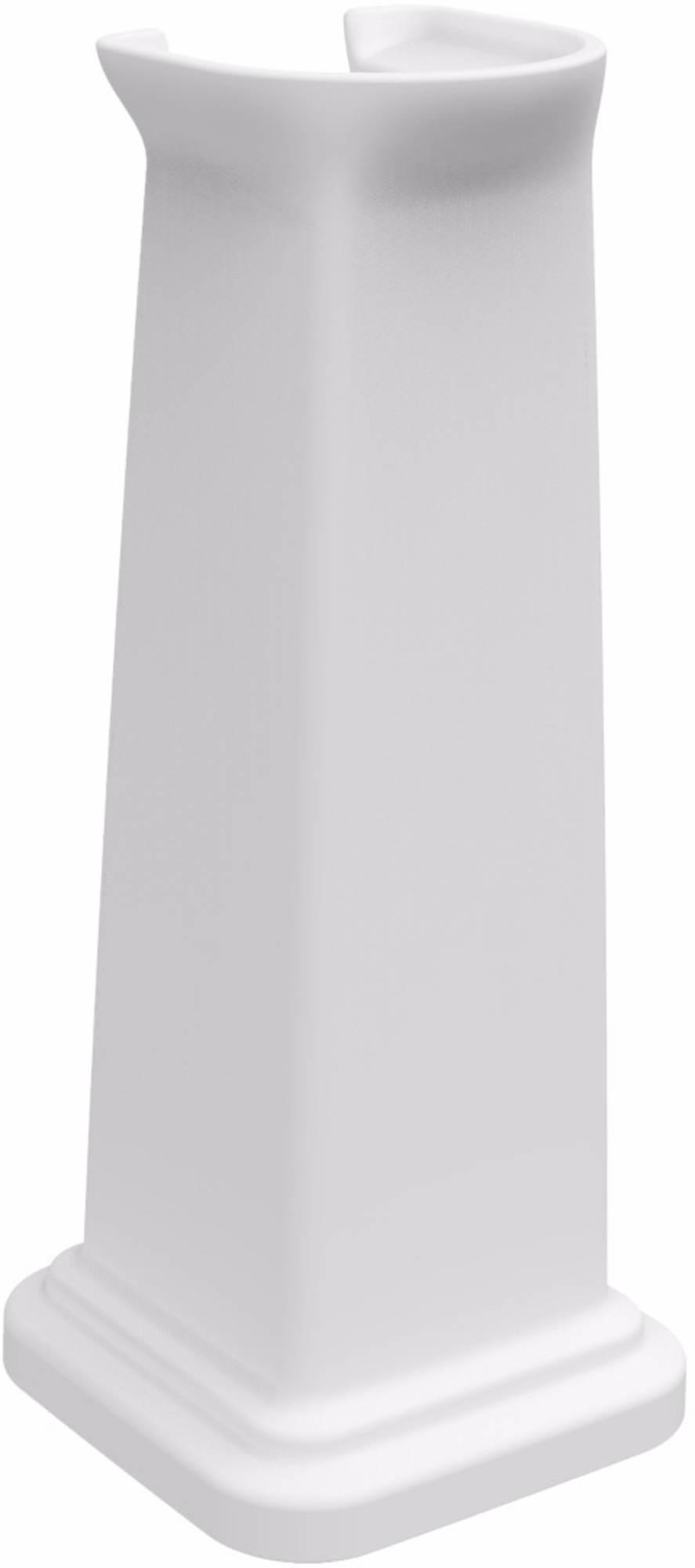 Ben Muret Pilaar 66 x 27 x 27 cm wit keramiek