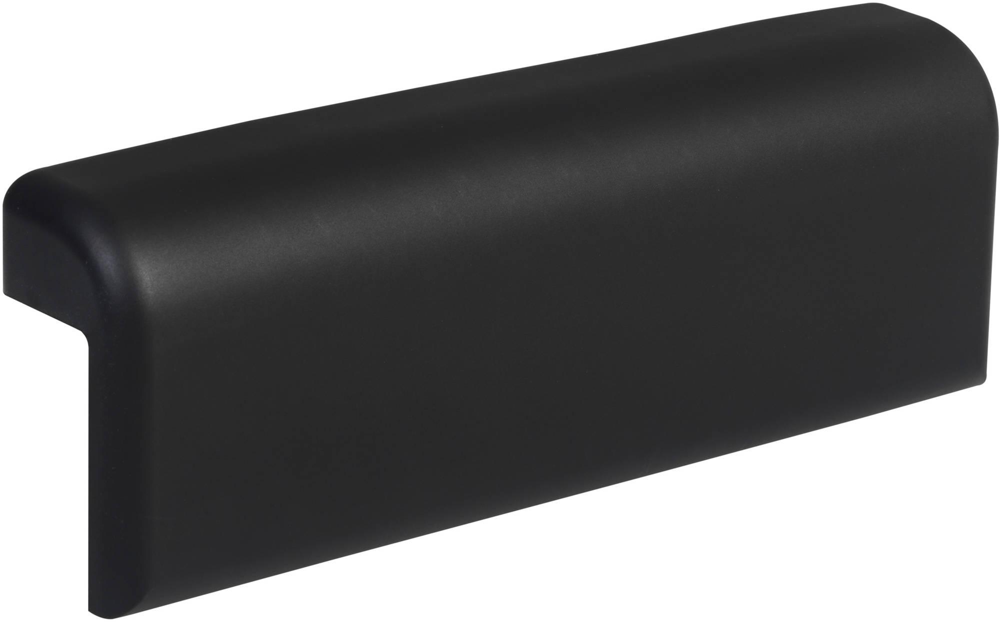 Ben Comfort Badkussen 36x14cm Zwart