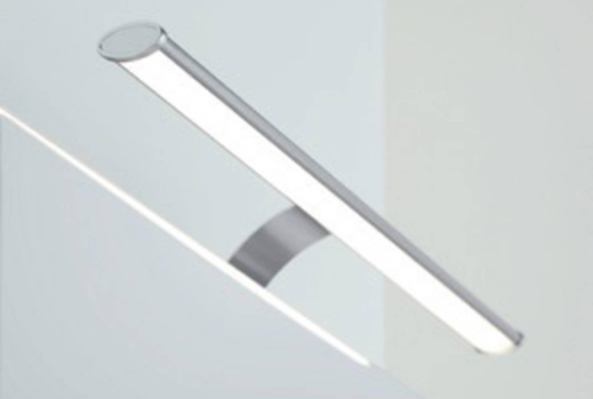 Line 45 Opbouwlamp Oval 50 cm Aluminium tbv. Spiegelkast