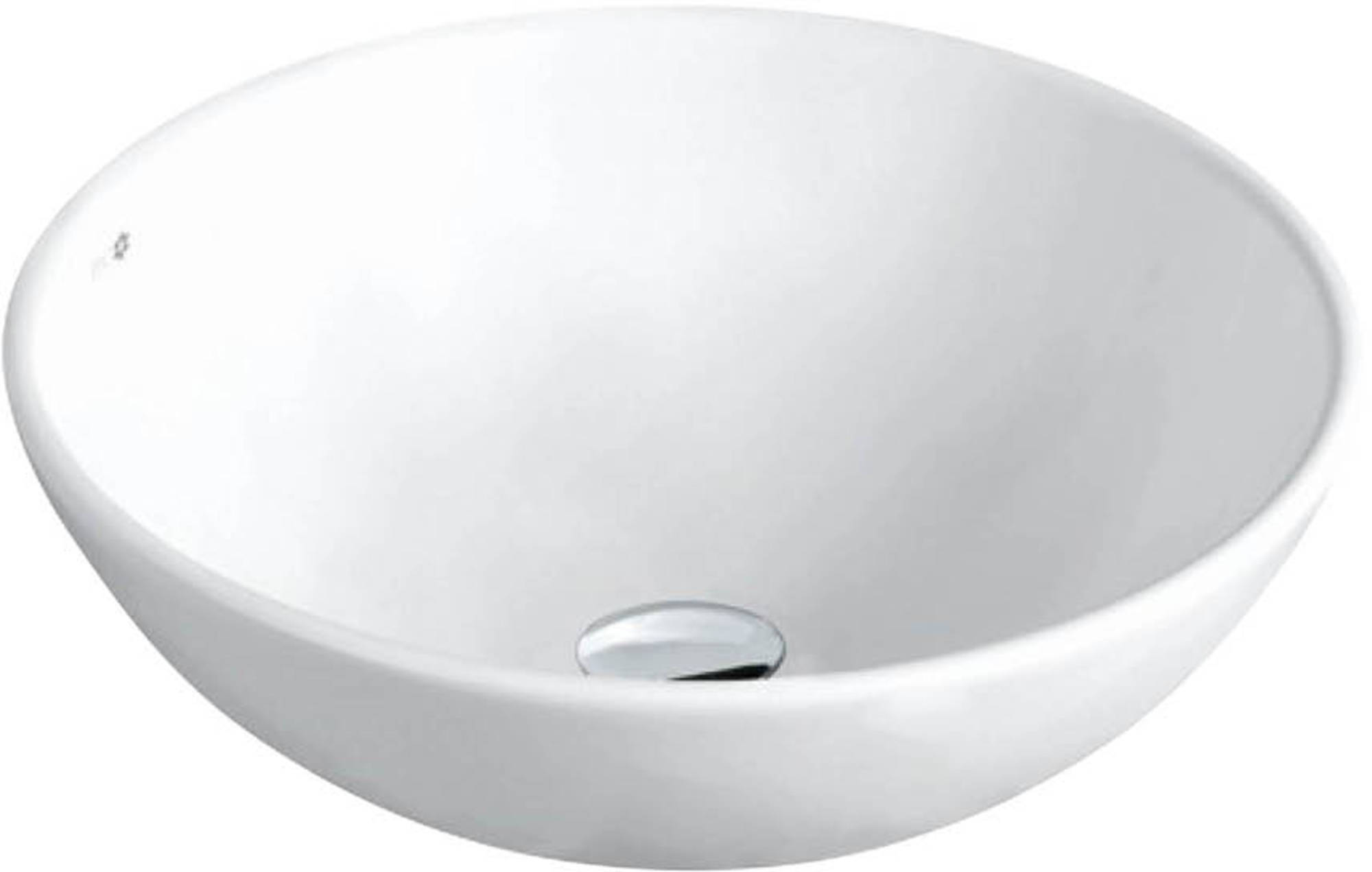 Van Heck Opbouwkom Ø 43x14,5 cm White