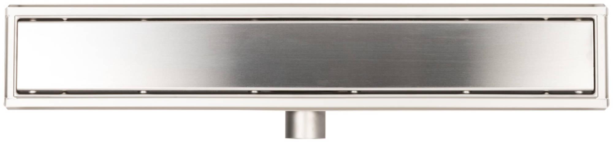 Ben Drain Complete douchegoot 60 cm RVS o40mm met dicht rooster