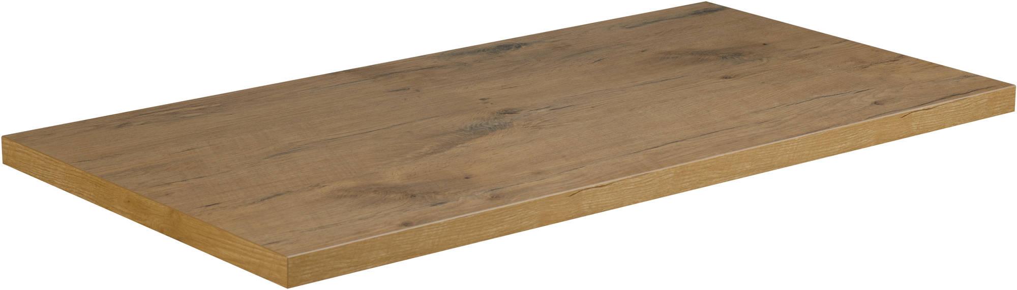 Saniselect Socan Wastafelblad 160x51,5cm Bardolino Eiken