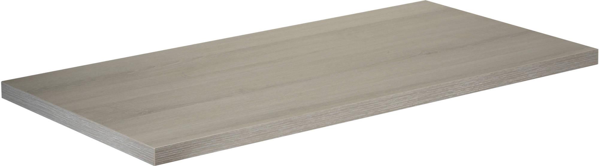 Saniselect Socan Wastafelblad 160x51,5cm Litho Grijs