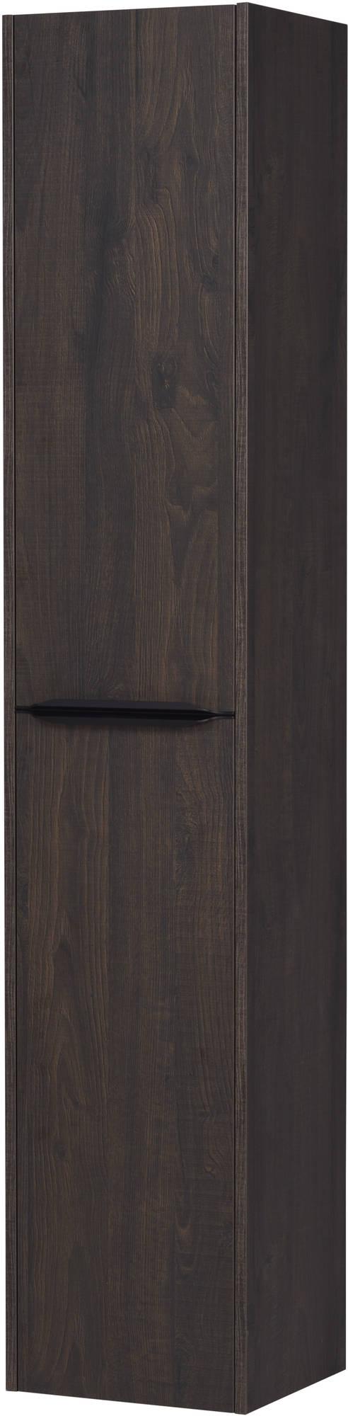 Saniselect Socan Hoge kast 35x32x180 cm Kasteel Bruin