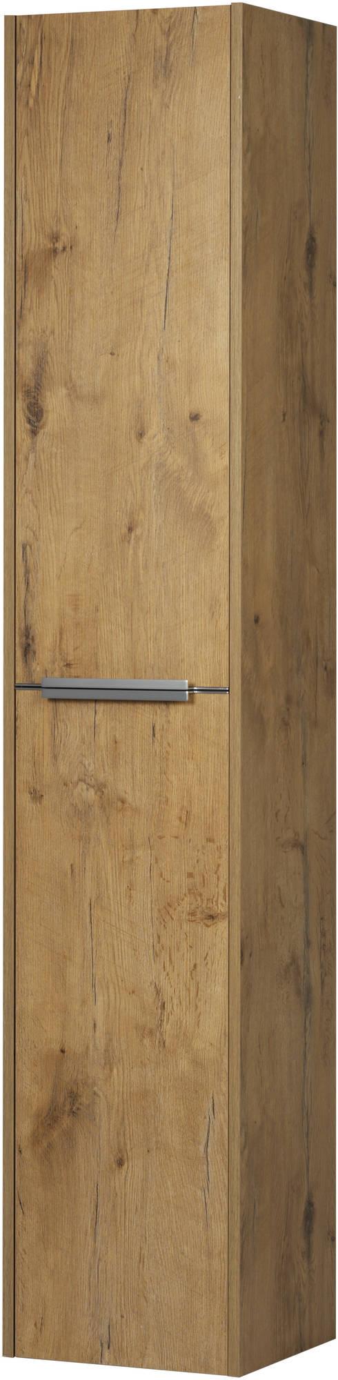 Saniselect Socan Hoge kast 35x32x180 cm Wild Eiken