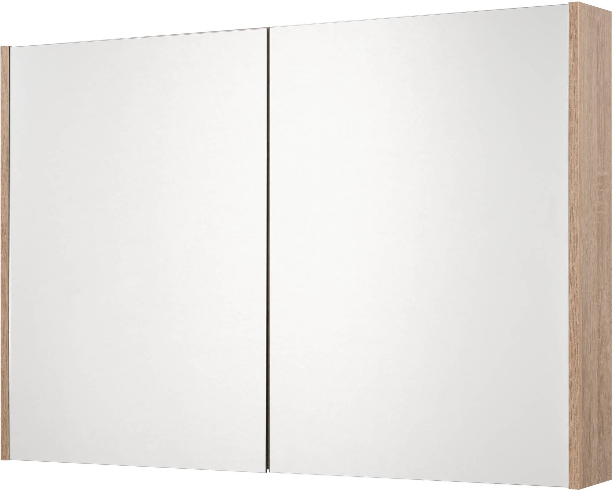 Saniselect Socan Spiegelkast 100x14x70 cm Bardolino Eiken
