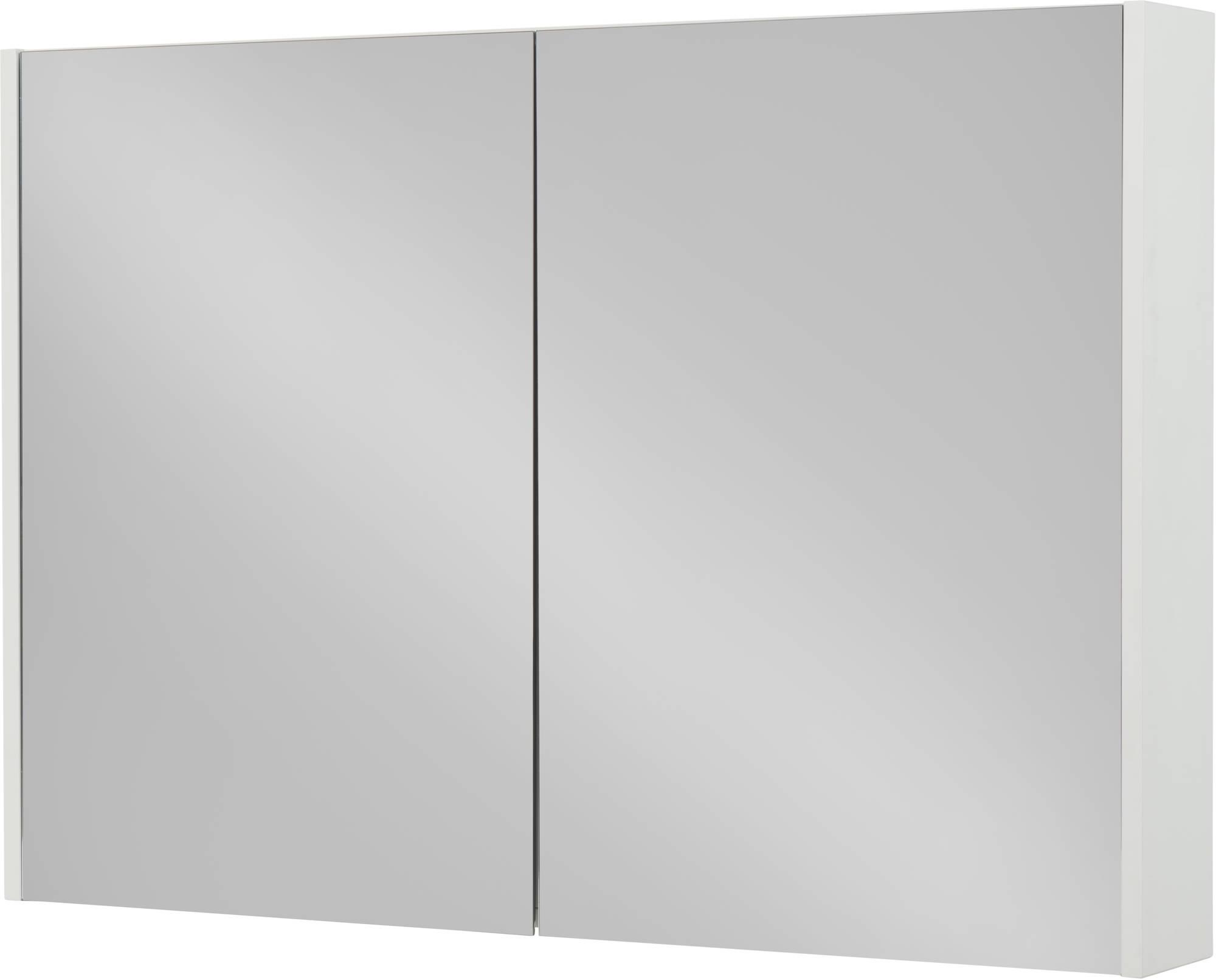 Productafbeelding van Saniselect Socan Spiegelkast 100x14x70 cm Mat Wit