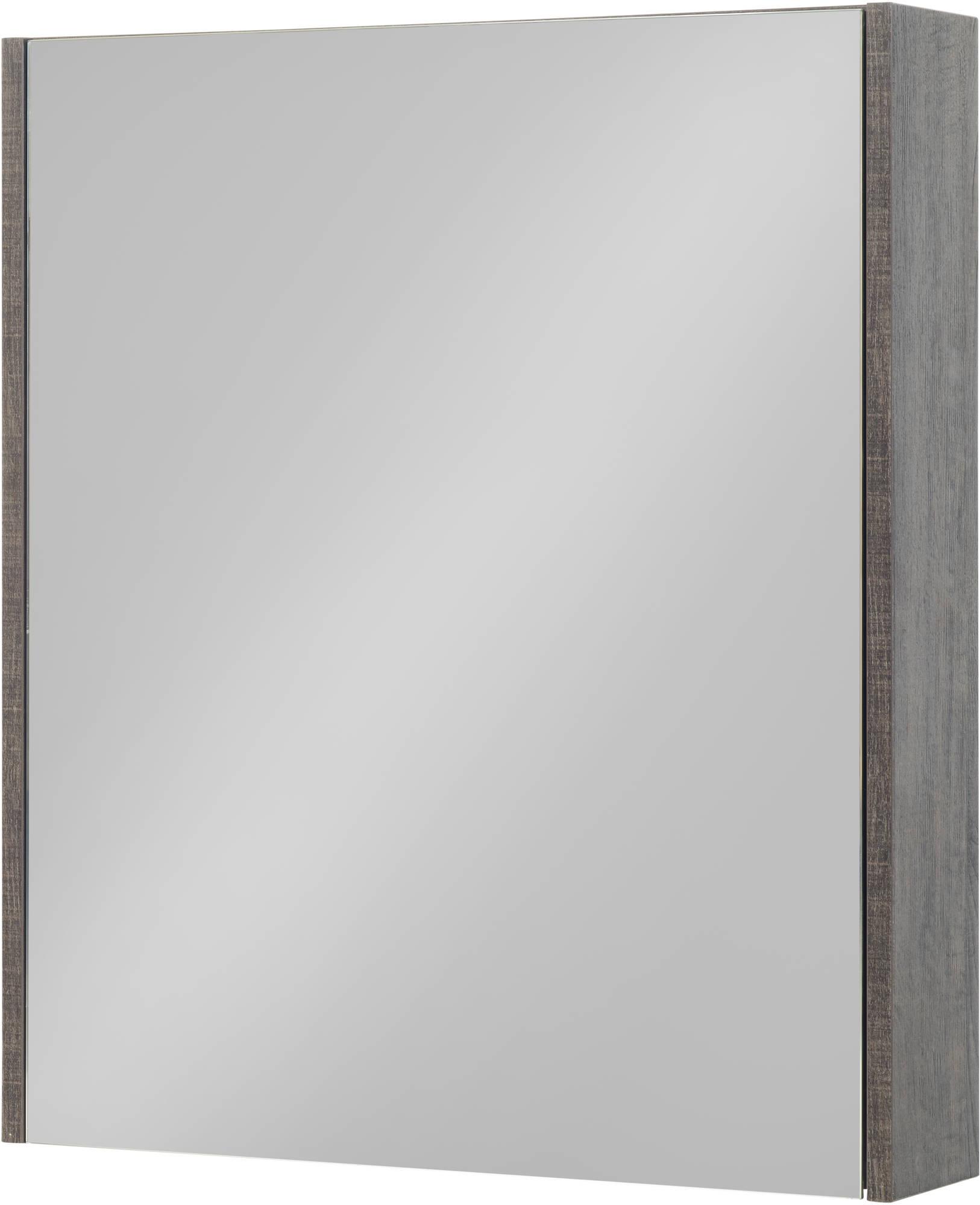 Saniselect Socan Spiegelkast 60x14x70 cm Kasteel Bruin