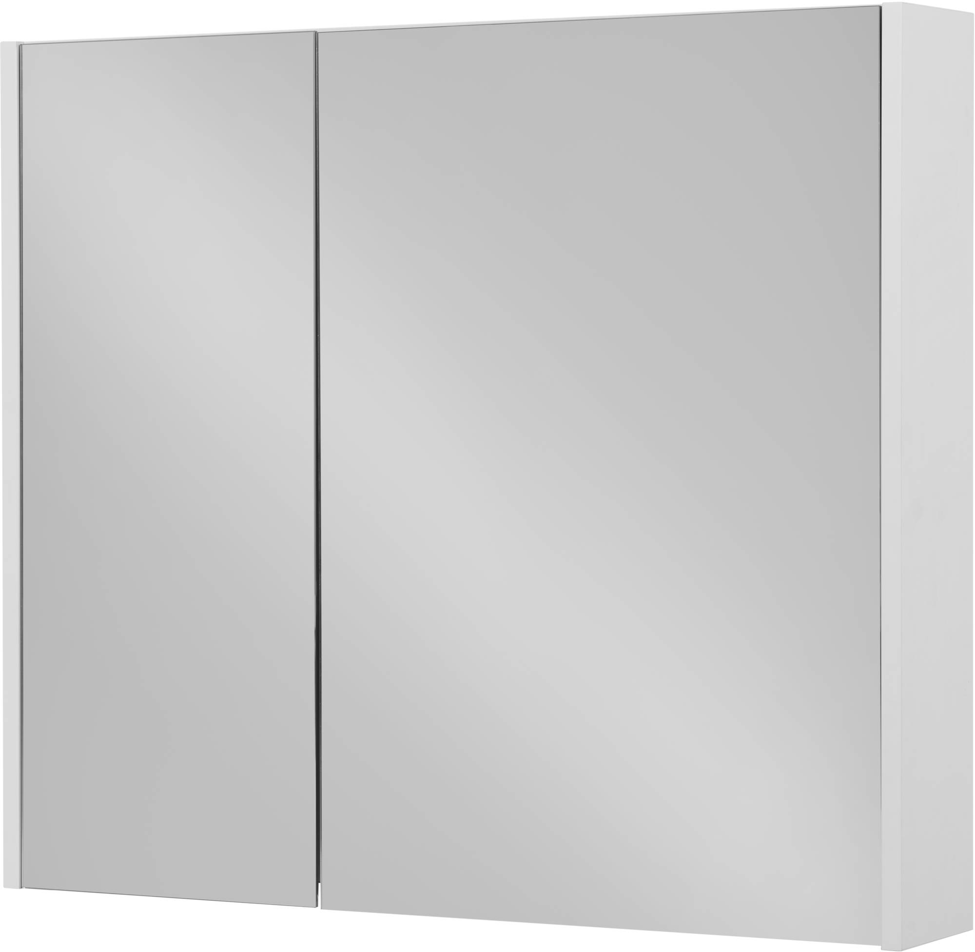 Saniselect Socan Spiegelkast 80x14x70 cm Mat Wit