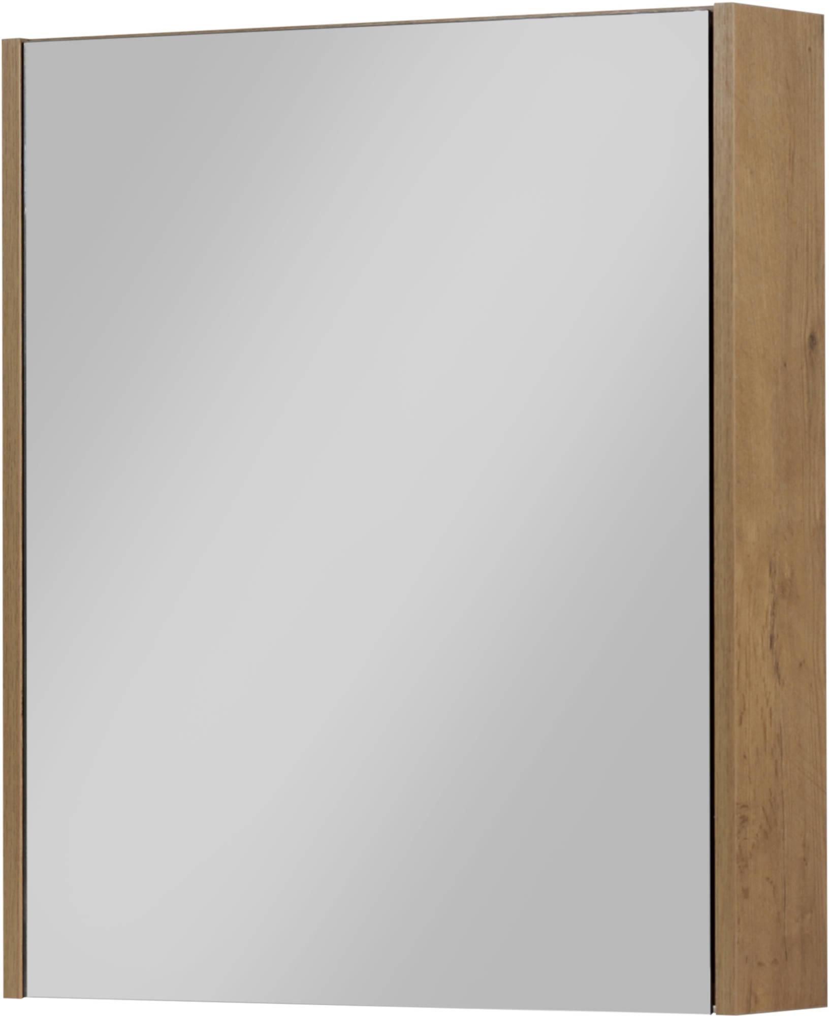 Saniselect Socan Spiegelkast 60x14x70 cm Wild Eiken