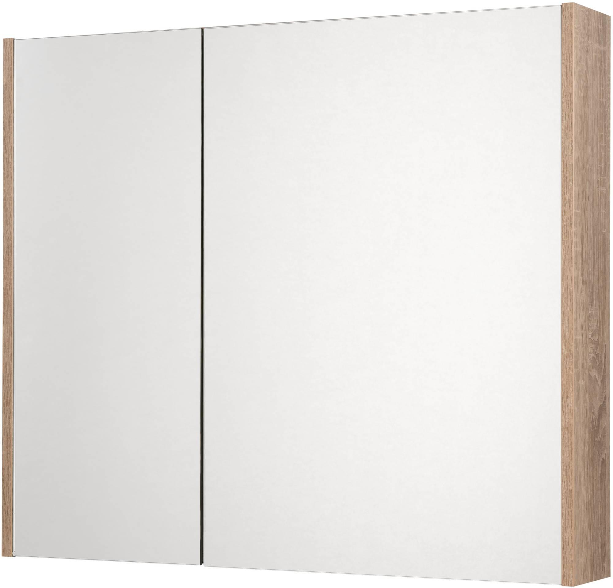 Saniselect Socan Spiegelkast 80x14x70 cm Bardolino Eiken