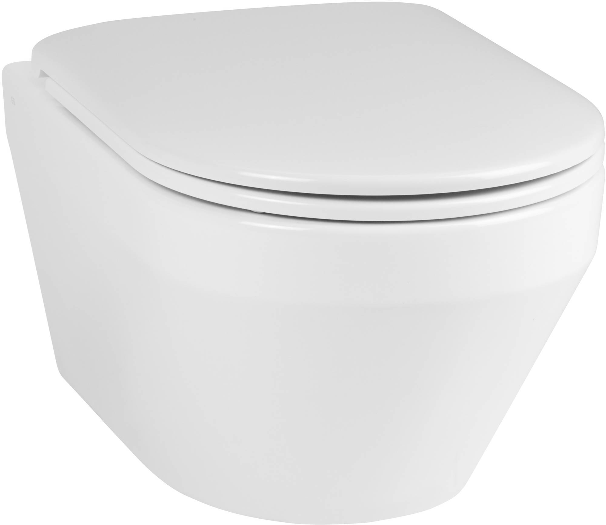 Ben Scuro wandcloset 36x55x33,5 cm Free Flush met bevestiging wit