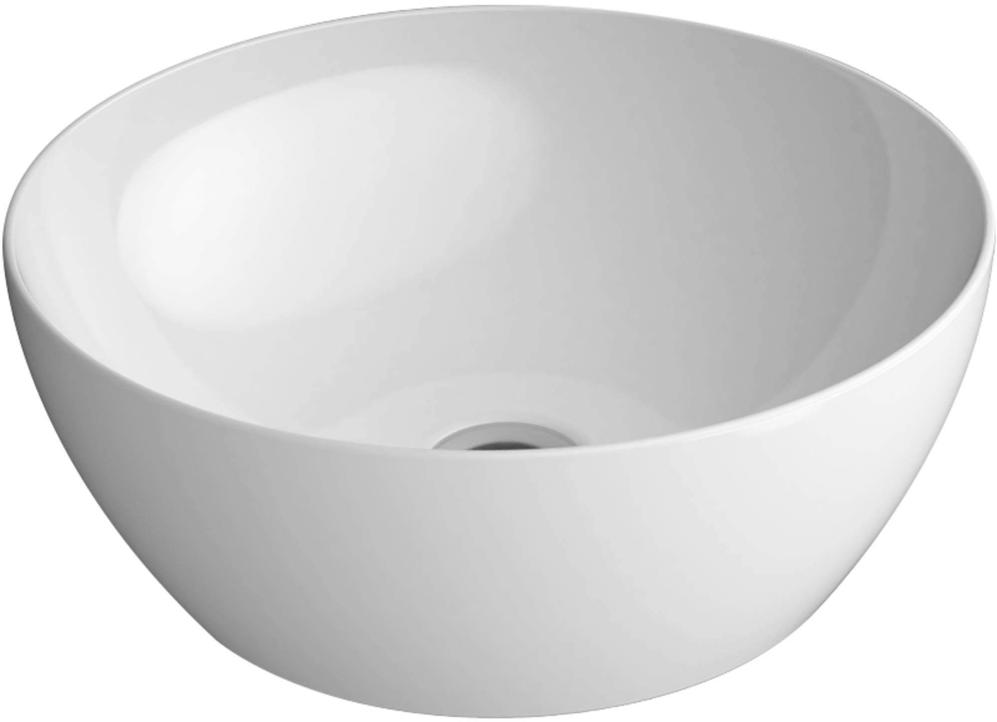 Ben Segno Waskom Ø 32x12 cm Xtra Glaze Wit