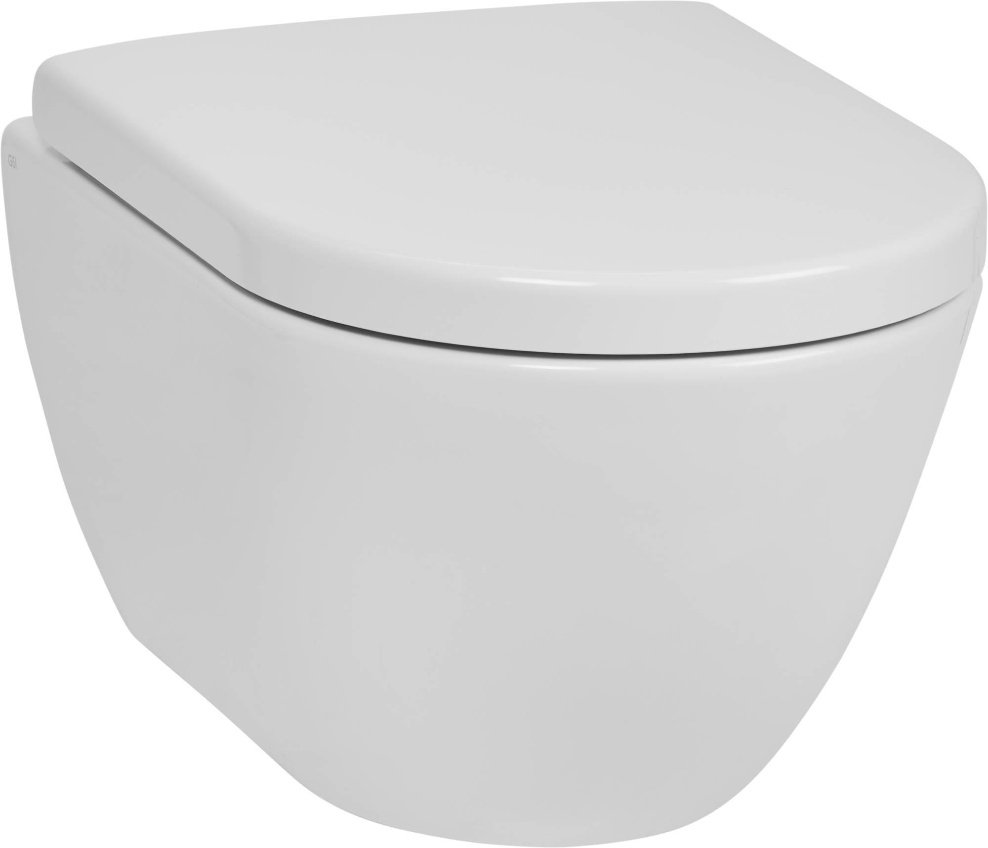 Ben Segno wandcloset 50x36 cm Compact Free Flush, incl. bevestiging