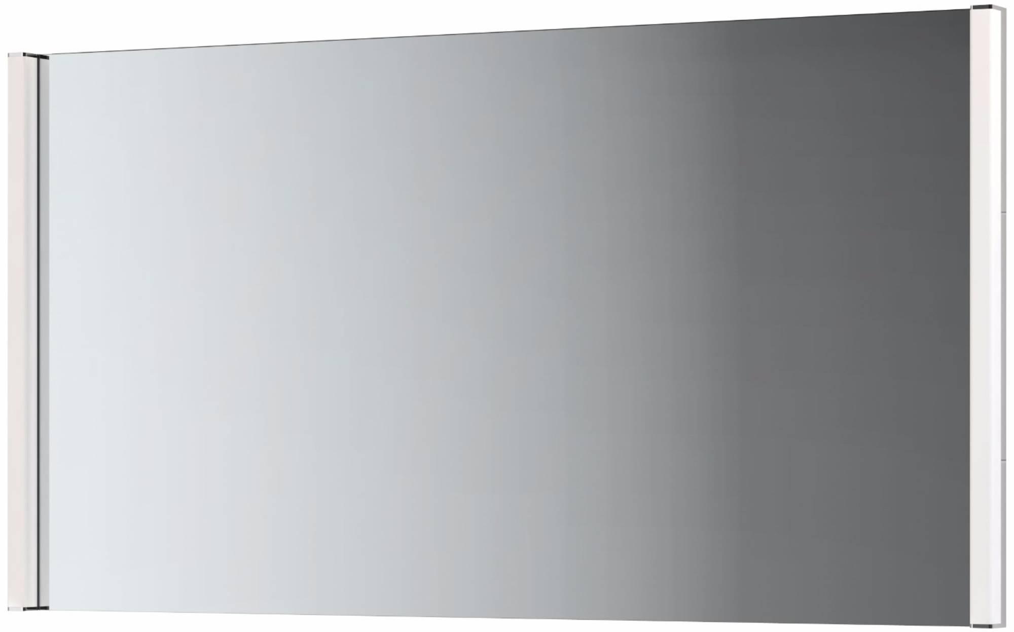 Ben Vario Brez spiegel met 2x LED verlichting 80x75cm