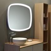 Ben Caserta Spiegelpaneel met Sensor 97x70 cm Wit