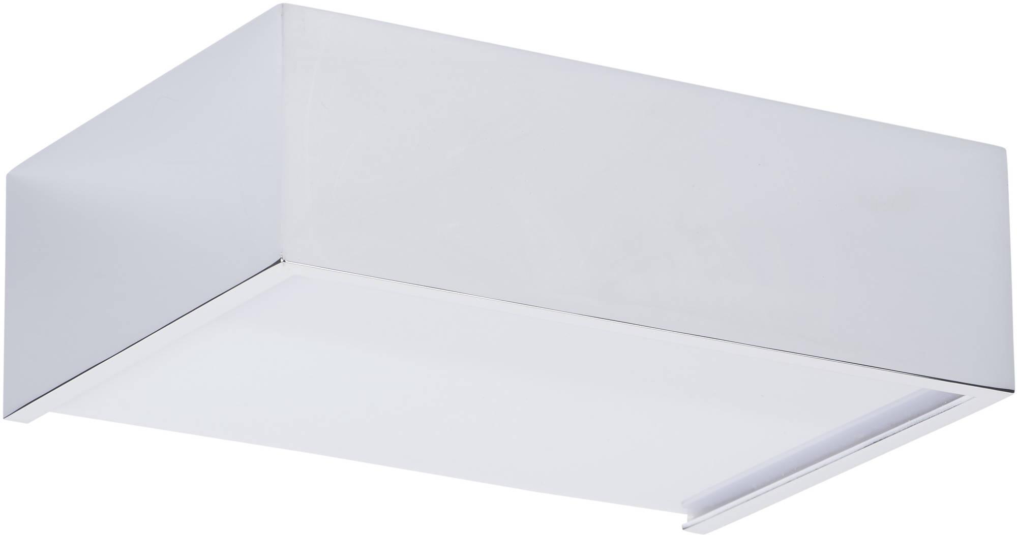 Ben Square design small LED wandlamp Chroom