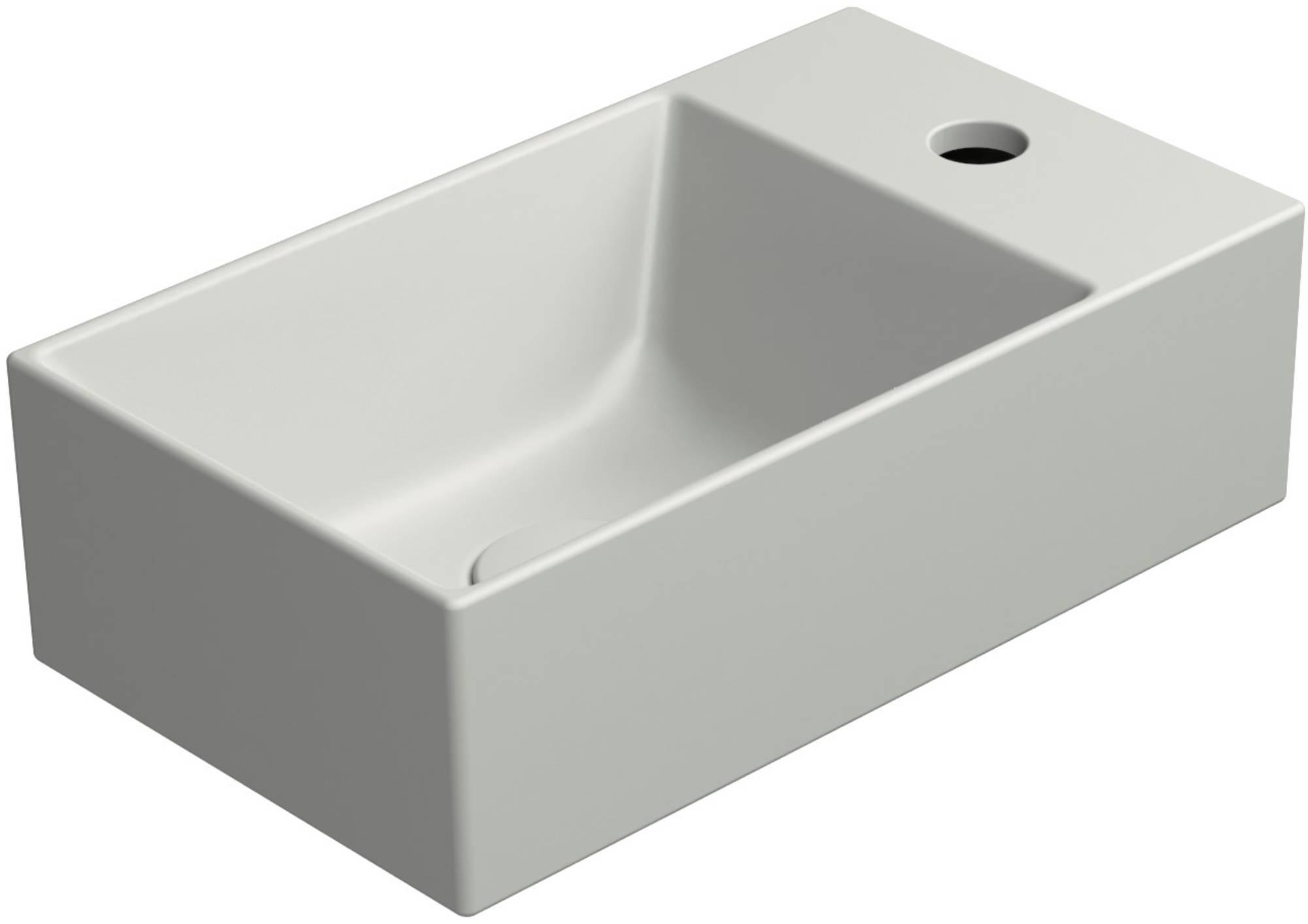 Ben Stelvio Fontein 40x23x12 cm 1 krg rechts Cement Grijs