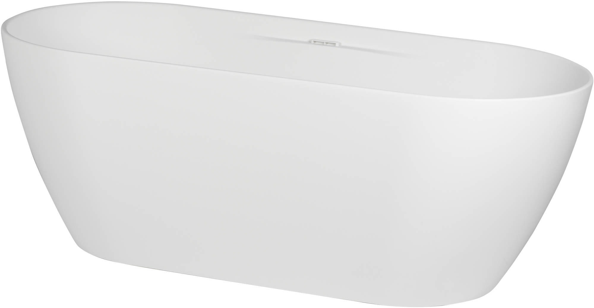Ben Steno vrijstaand bad 170x75 cm Solid Surface Mat Wit