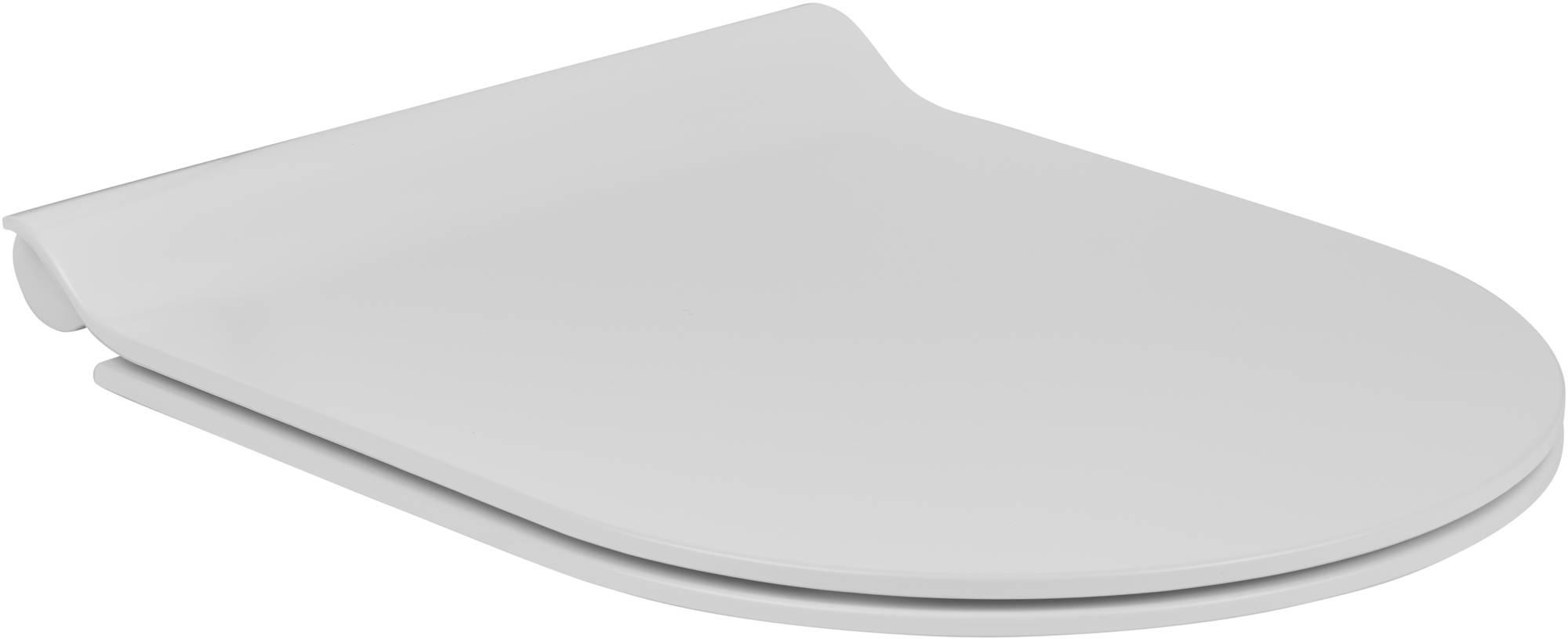 Ben Sito/Segno/Scuro Closetzitting met softclose & quickrelease 36,5x45,5x2,5 cm Mat Wit
