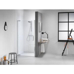 Sealskin Get Wet IMPACT swingdeur 90x195 cm chroom/zilver hoogglans helder glas