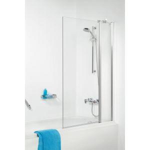 Sealskin Get Wet S105 badzijwand 100x140 cm chroom helder glas
