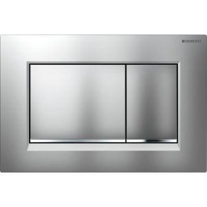 Geberit Sigma 30 Bedieningsplaat 24,6x1,2x16,4 cm Mat Chroom