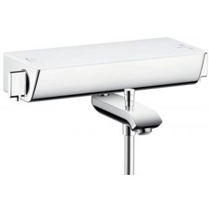 Hansgrohe Ecostat Select Badthermostaat Wit-Chroom