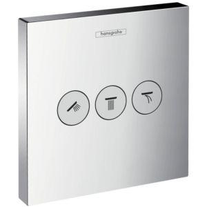 Hansgrohe Shower Select afbouwdeel inbouw stopkraan chroom