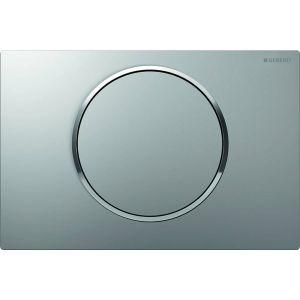Geberit Sigma 10 bedieningsplaat   kleuren:plaat/ring/knop Matchroom-Chroom-Matchr.