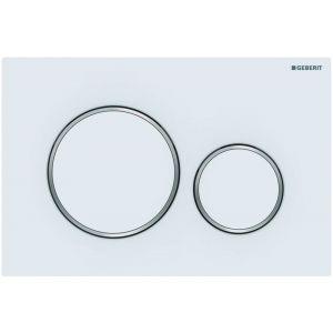Geberit Sigma 20 Bedieningsplaat 24,6x1,5x16,4 cm Mat Wit