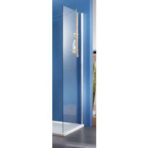 Ben Moon Zijwand 70x200cm RVS-Look / Helder Glas