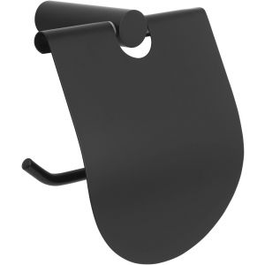 Saniselect Black Closetrolhouder 11,9x7,4x12,5 cm mat zwart