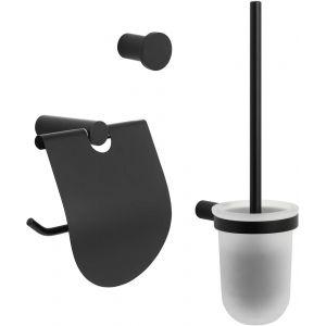 Saniselect Black Accessoireset Mat Zwart