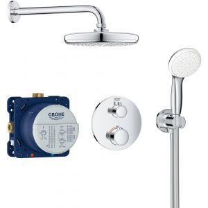 Grohtherm Perfect Shower Set Rond met Tempesta 210 mm Chroom