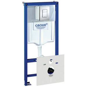 Grohe Rapid SL inbouwreservoir zelfdragend met skate air drukplaat chroom