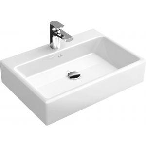 Villeroy & Boch Memento Opzetwastafel 50x42cm Ceramicplus Wit