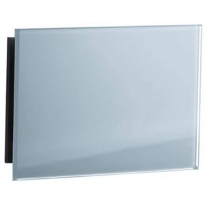 Sunshower Ventilatierooster 2st 15x9 cm Organic Grey