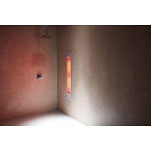 Sunshower Pure XL 19,9x10x123,8 cm Wit