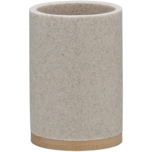 Sealskin GRACE Beker 10,2x7,2 cm polyresin zand